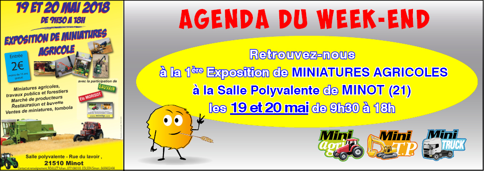 AnnoNce Agenda Exposition -POL 1