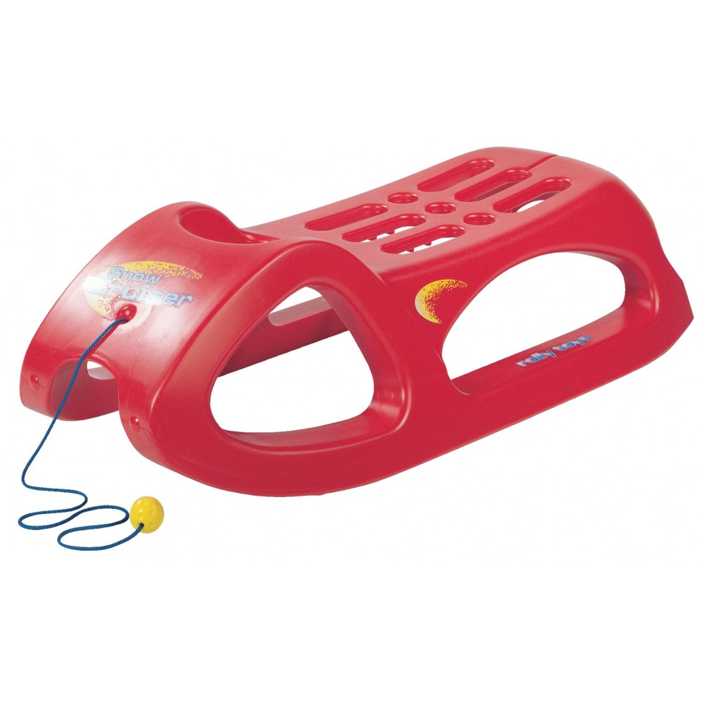 Luge Snow Cruiser, rouge