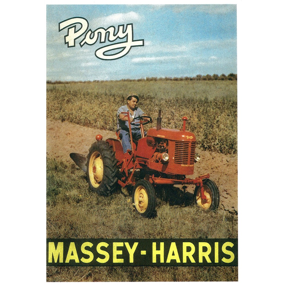 Tracteur MASSEY HARRIS Pony
