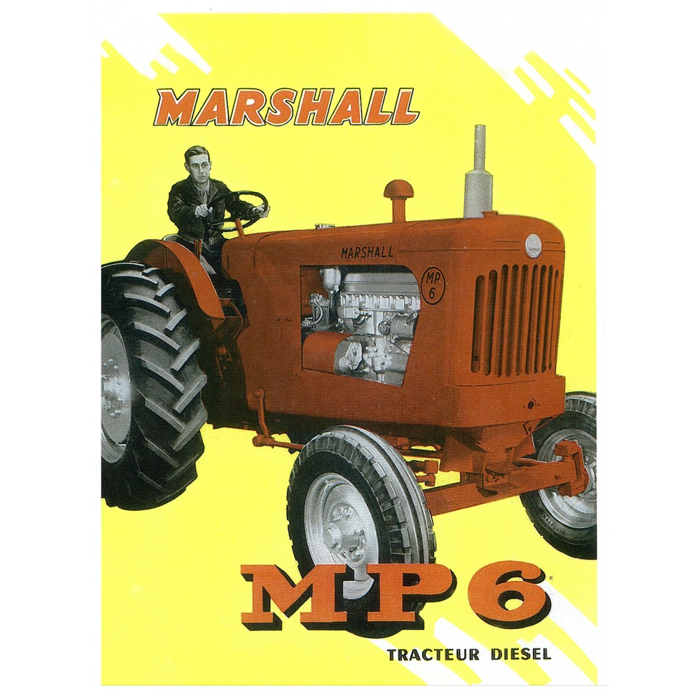 Tracteur MARSHALL MP6