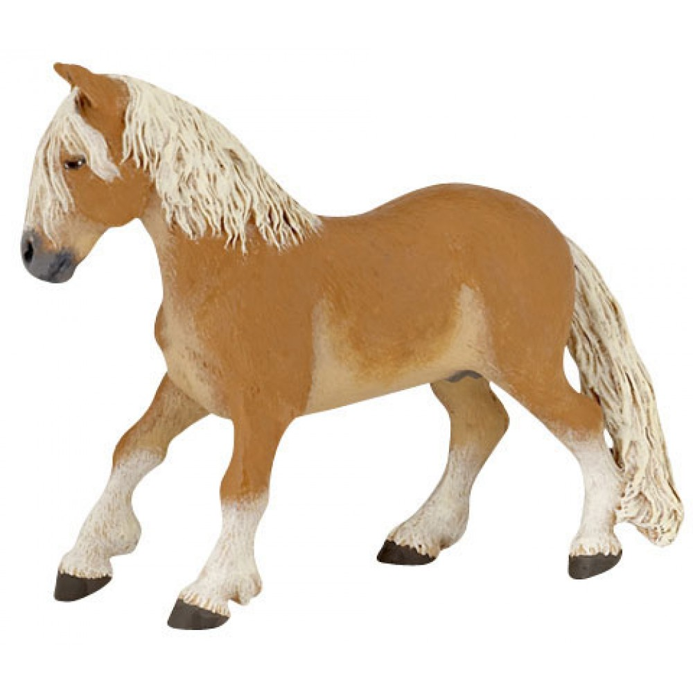 Figurine Poney Haflinger