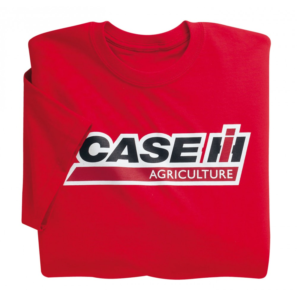 T-shirt Adult rouge avec logo CASE IH