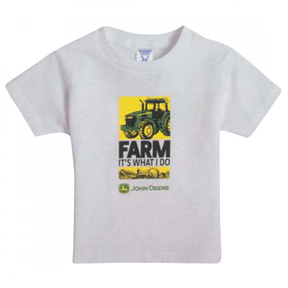 T-shirt Enfant XL, blanc -FARM IT'S…-