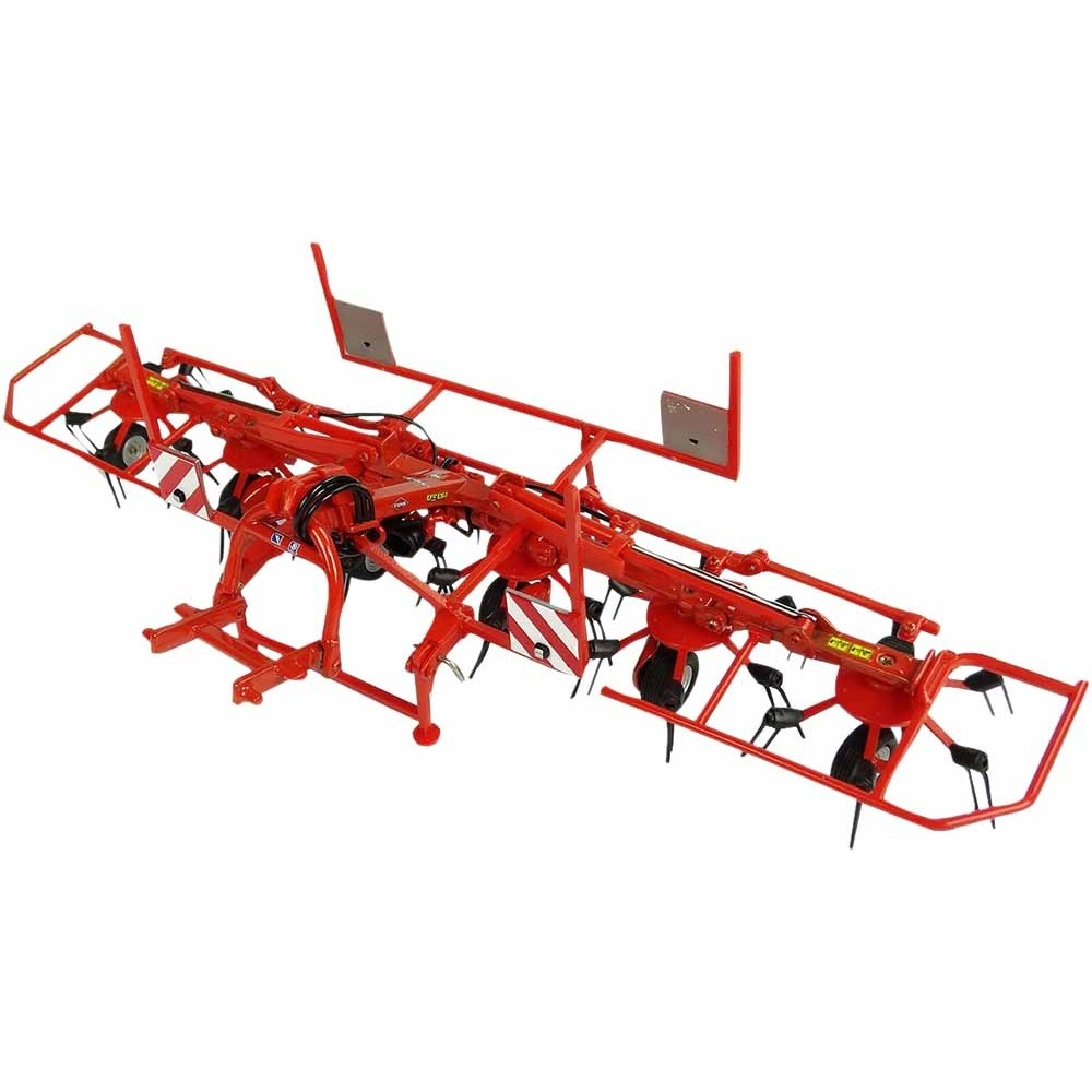 KUHN GF6502 Faneuse repliable 6 toupies