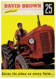 Tracteur DAVID BROWN 25