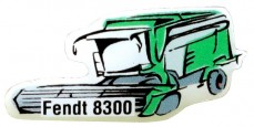 Pins FENDT 8300 Moissonneuse batteuse