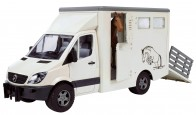 MERCEDES Sprinter Camionnette avec Box à cheval