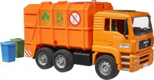 Camion poubelle MAN TG orange