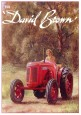 Carte Postale : Tracteur DAVID BROWN