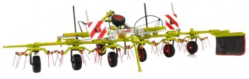 Faneuse repliable 6 toupies CLAAS Volto 60