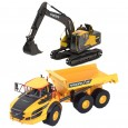 Pack 3 engins VOLVO A40G & EC220E