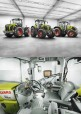 Poster : CLAAS Axion et Xerion