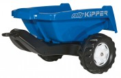 Remorque basculante Rollykipper, couleur bleue NEW HOLLAND