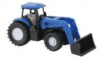 Tracteur NEW HOLLAND avec chargeur frontal -BLISTER-