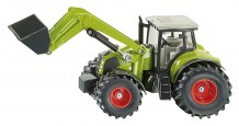 Tracteur CLAAS Axion avec chargeur frontal