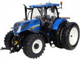 Tracteur NEW HOLLAND T7-225 jumelées -US-
