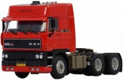 DAF XF 3300 Space Cab 6x2, rouge